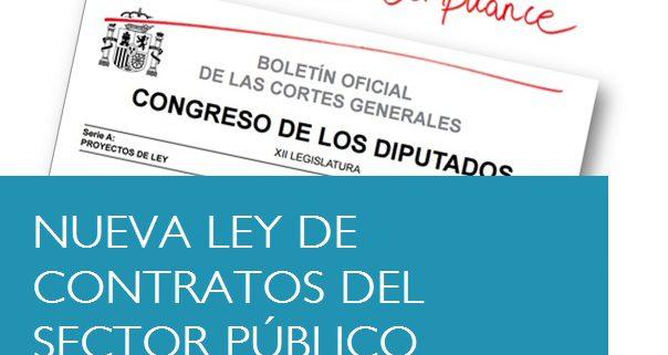 ENTRADA EN VIGOR LA LEY 9/2017, DE 8 DE NOVIEMBRE, DE CONTRATOS DEL SECTOR PÚBLICO