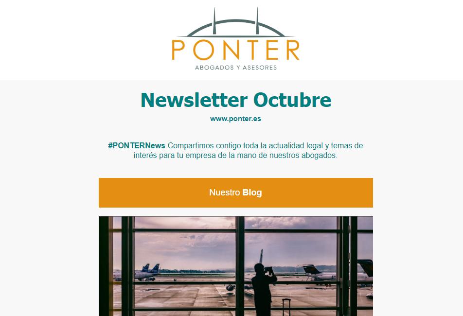 PONTERNews Octubre 2019